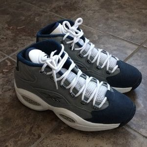 Reebok Iverson Question Mid basketball shoes